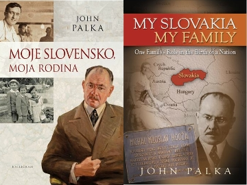 Portrait of Milan Hodža, on the cover of the book My Slovakia, My Family by John Palka